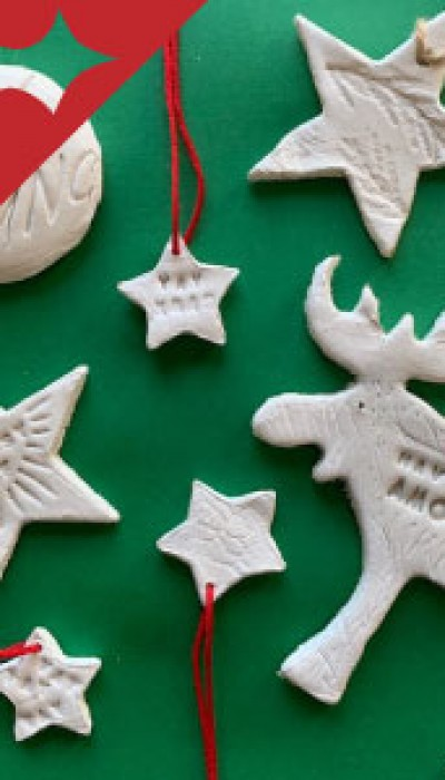 Clay Christmas Decorations with Clare