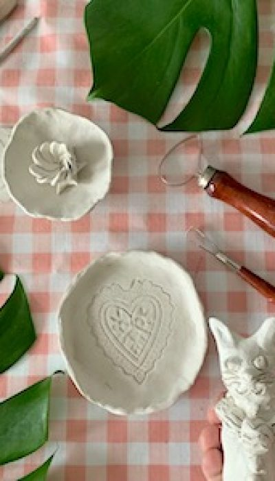Hand Built Clay Creations with Marloes
