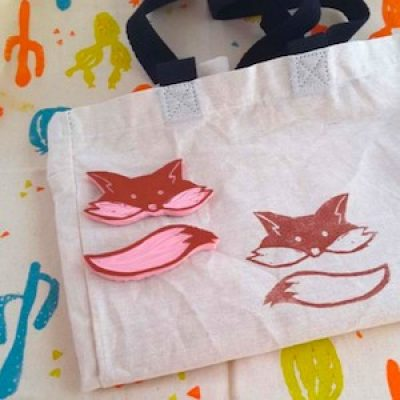 Textile Printing with Emilie