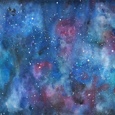 Galaxy Watercolours with Emilie ONLINE