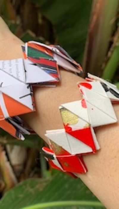 Paper Jewellery: Modular Bangles with Maria ONLINE