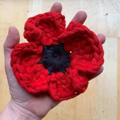 Crochet a Poppy with Maria ONLINE