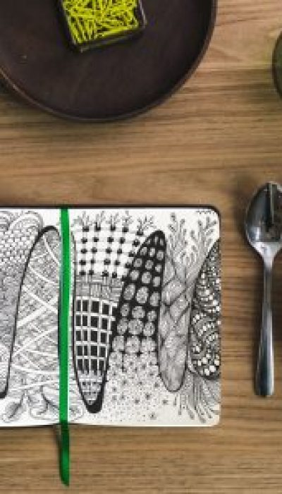 Mindful Doodling for Lunchtime with Marloes ONLINE