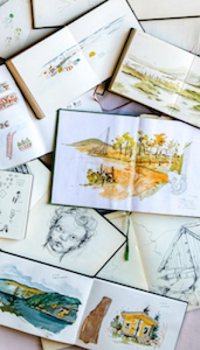 Urban Sketching with Featured Artist Amandine ONLINE