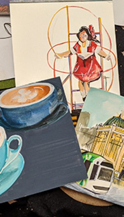 Marvellous Melbourne: Melbourne Icons in Watercolour with Emilie ONLINE
