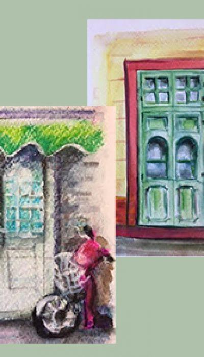 Painting Doorways with Nicole ONLINE
