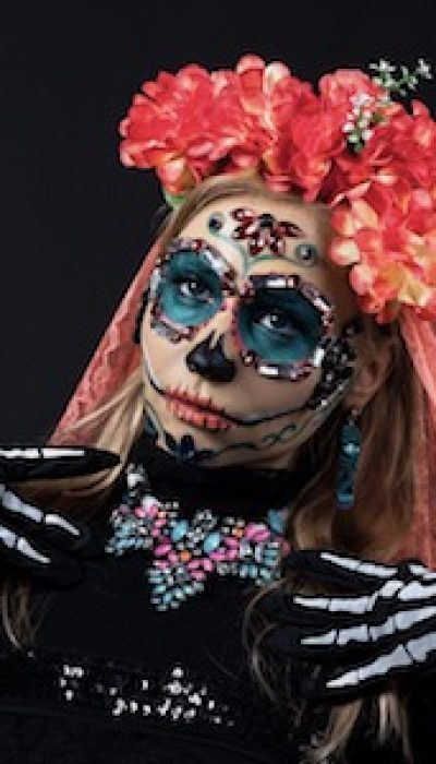 Easy Sugar Skull, Day of the Dead Makeup with Meagan ONLINE