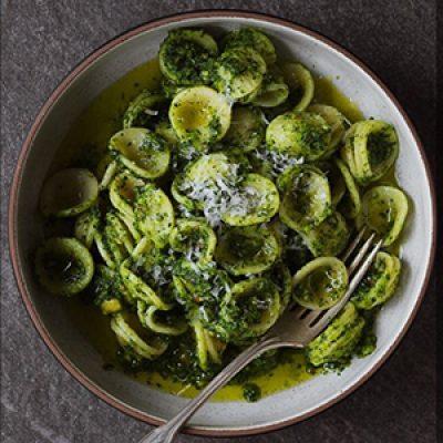 Homemade Orecchiette al Pesto with Roberta ONLINE