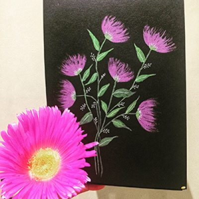 Painting Flowers with Sindhu ONLINE