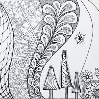 Mindful Doodling: Xmas with Marloes ONLINE