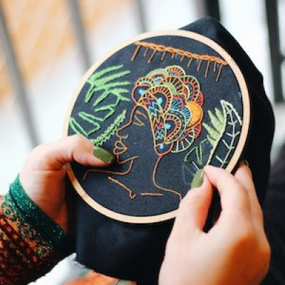 Modern Embroidery with Natalia