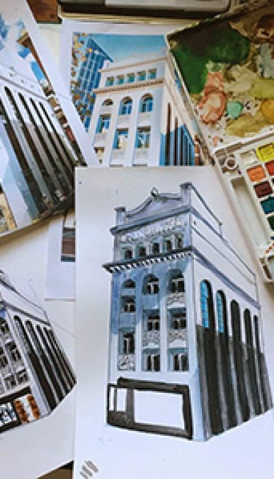 Painting Heritage Buildings with Marloes ONLINE
