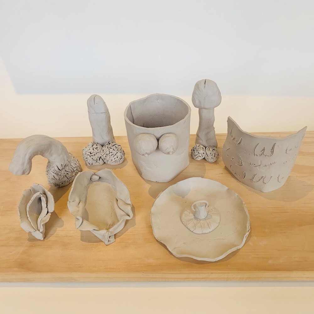 erotery or erotic pottery items